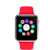 2016 Nova A1 Bluetooth relógio inteligente relógio de pulso Men Sport Watch para Apple iPhone 6 Samsung Android / IOS telefone PK GT08 Smartwatch China direto