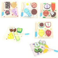 Wholesale Kids Kitchen Food Pretend Play Cutting Fruit Vegetable Knife Plastic Toy A00057 SPDH