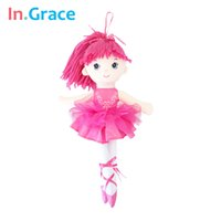 best ballerina - In Grace pink dream fantasy ballerina dolls inch high quality material doll wedding decoration doll baby girls best gifts