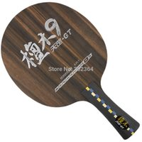 Wholesale DHS Dipper Di GT9 Di GT Wooden Ebony Table Tennis Blade for Ping Pong Racket
