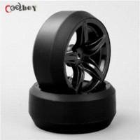 Wholesale 4pcs RC Drift Tires amp Wheels hub Rim for HSP HPI On Road Racing Car tire