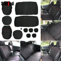 Wholesale High Quality Car Seat Covers Universal MM Sponge Car Styling Car Pieces Low back Seat Cover With Headrest Covers