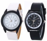Wholesale fashion mens silicone rubber leather watches styles simple design sport casual men wrist quartz watches for men