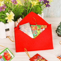 Wholesale Christmas decorations Christmas tree widget Christmas non woven envelope The bag can put candy Christmas CARDS