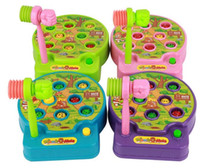 baby moles - Educational toy Baby Whac A Mole Mole Hamster Attack Poke A Mole Electronic Music Plastic Kids Game Toy