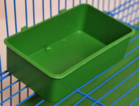 bath tub tray - Bird handle water box cup Little pet multi function parrot bath tub food tray supplies