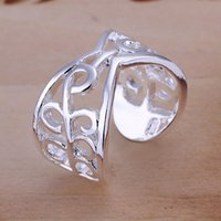 Wholesale Sterling Silver Plated Fashion women Rings Jewelry For Gifts R033
