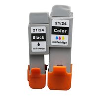 Wholesale 2PK Black and Color Inkjet Cartridge Compatible for Canon PIXMA iP1000 iP1500 iP2000 MP110 MP130 Printer No
