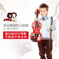 beginner violin music - Ddung winter has children Violin Students with electronic music instruments for beginners simulation violin girl