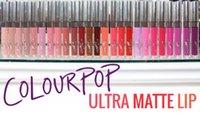 al por mayor pacific-COLOURPOP Ultra Mate Liquid Lip Barra de labios 12 colores nuevo en caja a prueba de agua 3,2 g avenida koala? Vice Solow 1ª Base rosquilla? Tul pacífico laxa