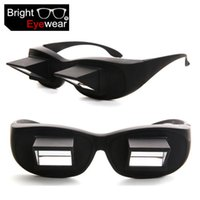 CR-39 adult reading books - New Arriving Unisex HD horizontal Multi color Lazy glasses lie on the sofa to read the book TV Glasses Clip on