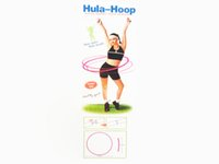 Wholesale Heavy Hula Hoop Good for Fitness