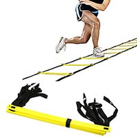 agility ladder - 2016 Hot selling Outdoor Sports New Durable Rung Agility Ladder for Football Soccer Speed Training Equipment Meters