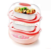 Wholesale Boiled egg double mini Electric Food Steamers
