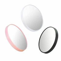 Wholesale Magnifying Mirror x Magnify Enlargement Suckers Compact Cosmetic Makeup Mirror Travel Magnified Glass Make up Cosmetic Mirror Customize