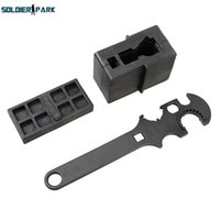 airsoft gun kit - 3 Combo Gunsmith Armorer s Tool Kit ar15 Lower Upper Vise Block Wrench For Airsoft Hunting Shooting Rifle Gun Accessories order lt no tr