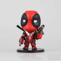 Wholesale X men Deadpool Q Version PVC Action Figure Collectible Toy Doll CM B94 Hot Sale