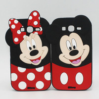 apple core duo - New Fashion D Minnie Mickey Mouse Silicone Case for iPhone S SE S Plus Grand Prime Duos Core Prime Core2 Cartoon Soft Back Cover