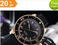battery machinery - New luxury brand FIFTY FATHOMS D B Automatic Machinery For Gents Watch Luxury Men s Best Wristwatches