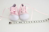 Wholesale 18 Inch American Doll Shoes Dress pink Color Handmade Sneakers Popular Cute Fashion American Girl Doll Clothes Accessories