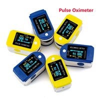 Wholesale New OLed Fingertip Pulse Oximeter With Audio Alarm Pulse Oximeter Sound CE FDA Monitor Home Medical Supplies Care SZ O01
