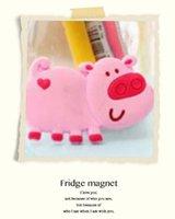 Wholesale 15 Soft Silicone Cartoon Fridge Magnet Stickers Refrigerator Decoration Home Decor Souvenir Cute Animal