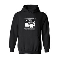 bape camera - Men New Design Sweatshirt I Shoot People Hoodie Funny Photographer Camera Photography Sweatsrhit Casual Personalized Unsex Sweatshirt XL