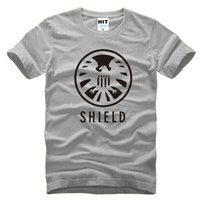 active agents - WISHCART Agents of S H I E L D SHIELD Avengers Mens T Shirt Tshirt Men O Neck Cotton Casual T shirt Tee Camisetas Hombre