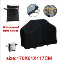 bbq shop - Free Shopping x61x117cm Hot Selling BBQ Cover outdoor barbecue covers Outdoor barbecue coat Prevent bask in cover Hot Sale