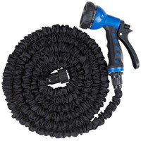 Wholesale USA Plastic Hose FT flexible Garden Water Pipe With Spray Nozzle For Washing Car Pet Bath Watering Garden