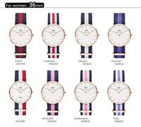 Wholesale 2016 brand Luxury daniell wellington Watch women Leather nylon Belts watches Military ladies Quartz Watch lady dress watch mm Clock Hombre
