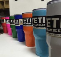 authentic coffee - AUTHENTIC YETI COOLERS OZ STAINLESS STEEL RAMBLER TUMBLER CUP COFFEE MUG