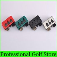 Wholesale Golf Brush Golf Accessories Colorful Holes Functions in Multifunction Golf Club Groove Cleaning Tool Brush