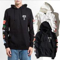 stussy - 2016 STUSSY Mens Hoodie Sweatshirt New printed sweatshirt Design Spring Autumn Brand Men hip hop Outerwear hoodies men Fit Coat