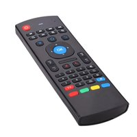 Wholesale Android TV box MX III Portable G Wireless Remote Control Keyboard Remote Controller Air Mouse for Smart TV box mini PC HTPC