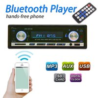 Wholesale car dvd Latest Bluetooth Car MP3 Player Din Stereo Audio In Dash FM Aux Input Receiver SD USB MP3 Radio Player order lt no track
