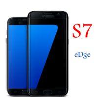 Wholesale S7 Edge Cellphones Produced S7 Edge Phones Long Time Battery Life Quad Core GB GB G Smart Phones VS Note I7 Plus