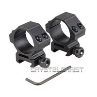 Wholesale 2 Weaver Scope Mount Ring Low Profile Picatinny Rail Mount Rings mm New