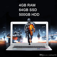 Wholesale 4GB GB GB inch ultra thin laptop notebook computer Quad core Celeron J1900 windows system ultra book