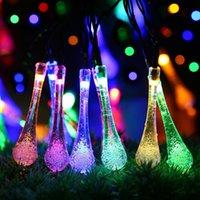 Wholesale 7M leds LED string lights Solar M Solar String Fairy Holiday Lights Solar Light String Lamp Outdoor For Christmas Party Garden Dec
