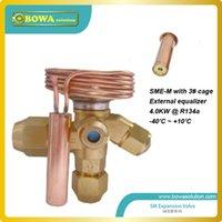 Wholesale 9 KW R134a external equlizer expansion valve with orifice for heat pump replace carly expansion valve