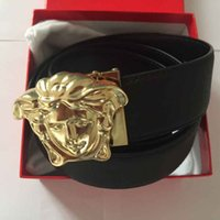 automatic needle - 2016 hot designer luxury v with male high quality real eath Belt with original box woman man GG belt buckle belt