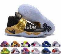 Wholesale 2016 Newest Colors Kyrie Irving Men Basketball Shoes Kyrie Olympic BHM All Star Basketball Sneakers High Quality Shoes Size