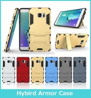 armor stand - Stand Holder For LG X Power Hybrid Armor Case For Iphone Plus S7 Edge Hybrid Silicone TPU Back Covers Cases For iPhone s Plus
