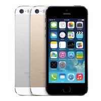 Wholesale 2016 Original Apple iPhone S Unlocked iPhone S i5S Dual Core GB GB quot IPS A7 iOS G MP WIFI Cellphone Refurbished DHL Free