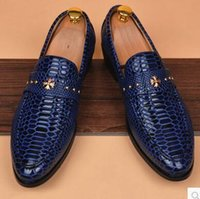 Wholesale 2016 Spring Summer Man Shoes leather Bullock Business mens leather shoes