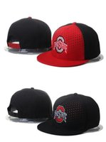 ncaa hats - NCAA Ohio State Cap Snapback American College Ohio State Buckeyes Snapbacks Ohio State Mesh Hats Free Size