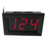 1PC красный светодиодный цифровой измеритель напряжения вольтметр AC 70 ~ 500V портативный инструмент # 78469