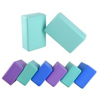 Wholesale High density EVA Yoga Blocks Foam Home Exercise Yoga Bricks Fitness Pilates Blocks