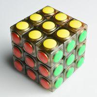 big brain - YongJun Linggan Speed Smooth x3x3 Magic Cube Puzzle Twist Cubo Magico Professional Kids IQ Brain Teaser Educational Toys